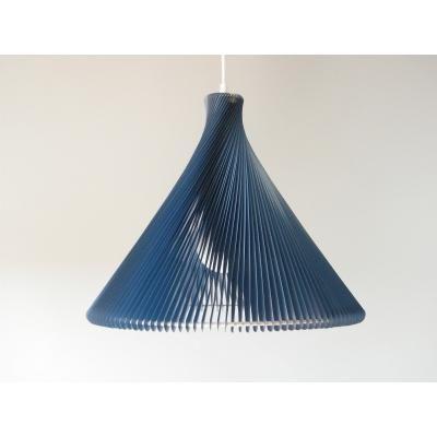 Exkluzív függesztett mennyezeti lámpa, kék - RONDO